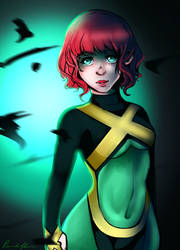 C: Jean Grey by Panduffin