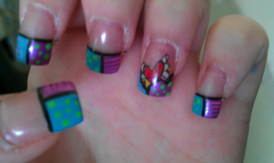 New Nails :D Britto Style by Zygma on DeviantArt