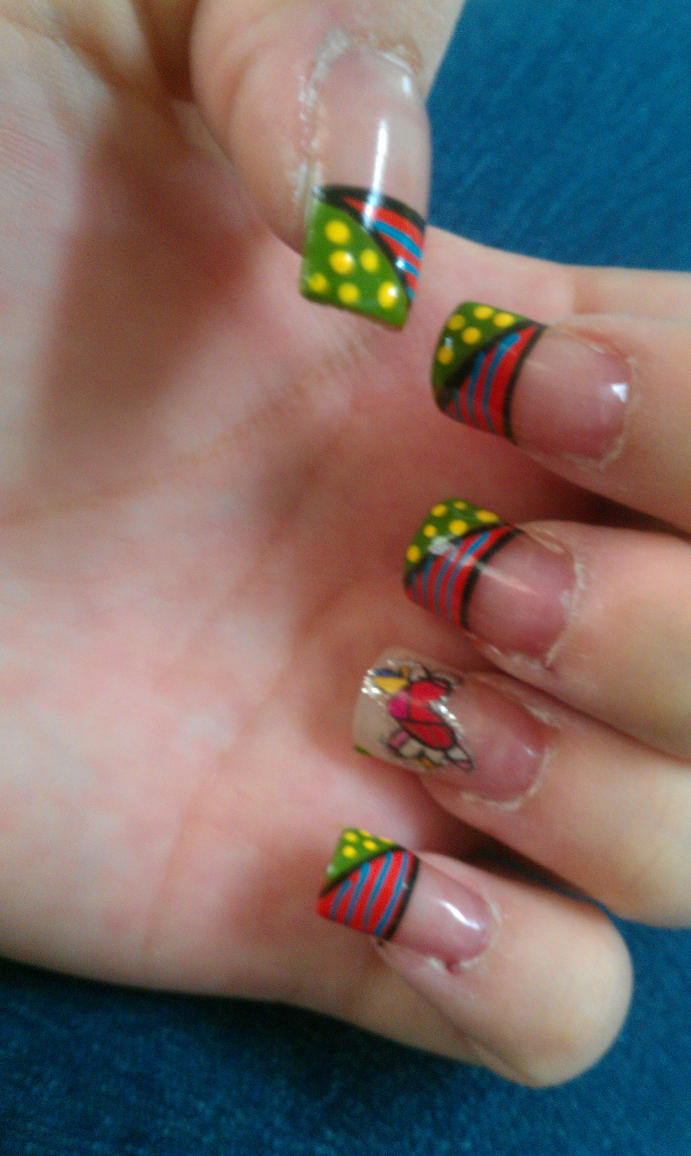 New Nails Britto Style Again.. by Zygma on DeviantArt