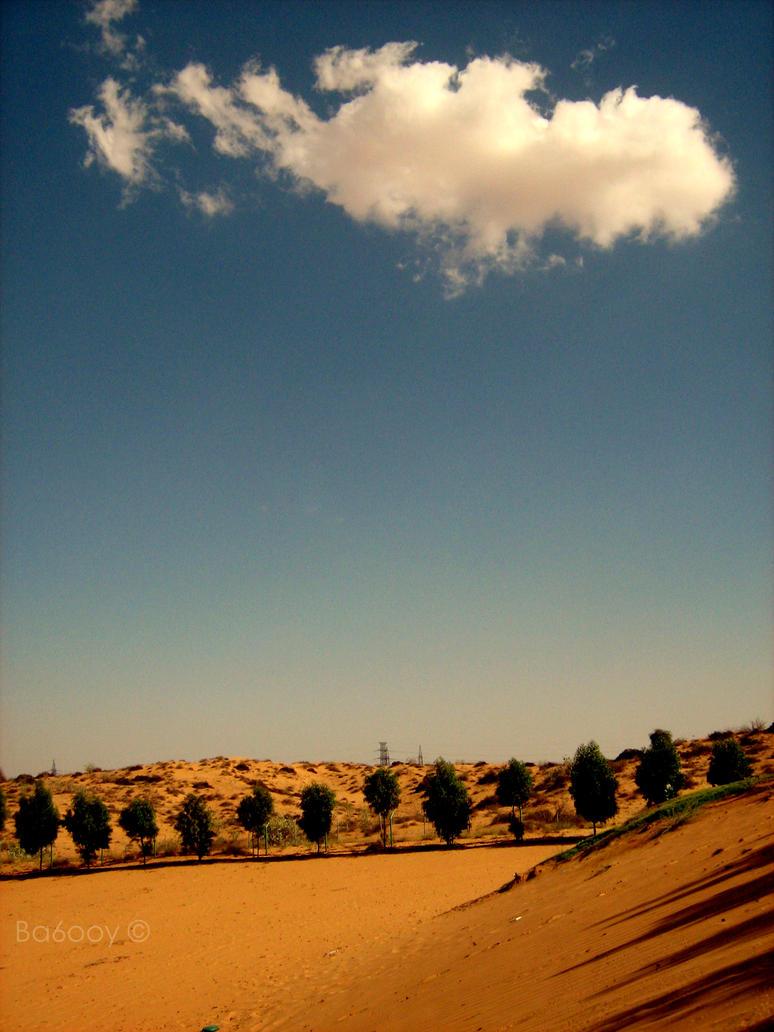 dancing desert by ba6ooy