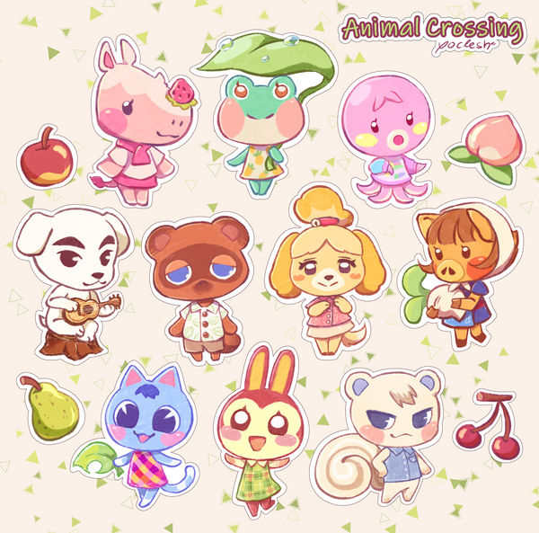 Animal Crossing By Yoclesh On Deviantart