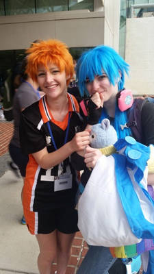 mE AND A CUTE ASS AOBA