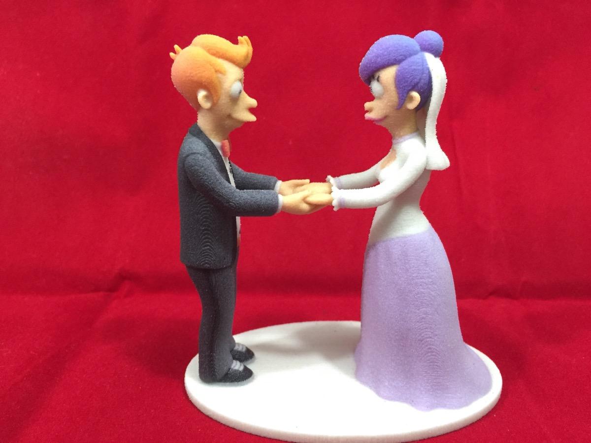 Futurama Wedding Cake Topper