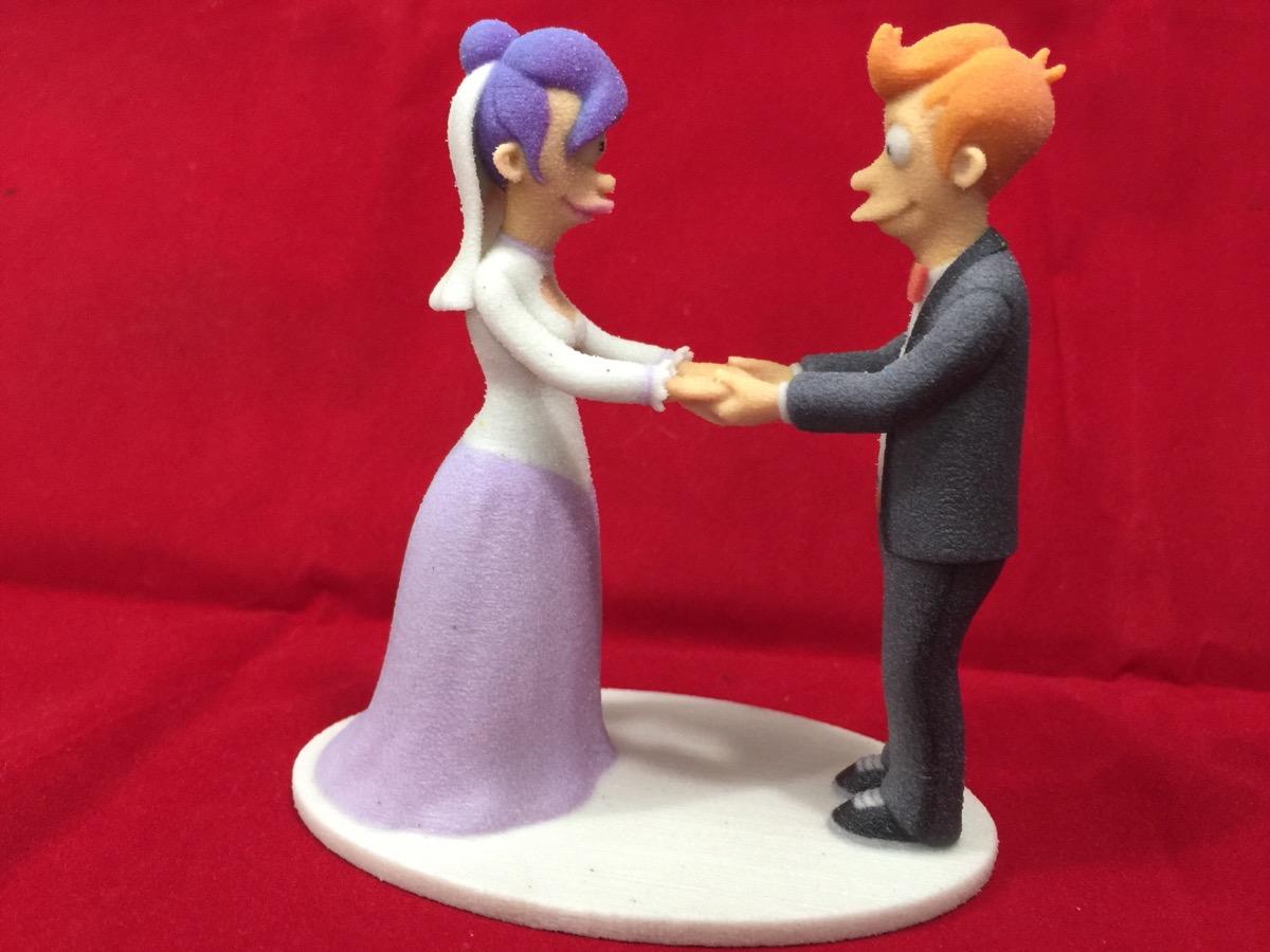 Artist Wedding Cake Toppers : Futurama wedding cake topper 3 by ManuelPoehlau on DeviantArt