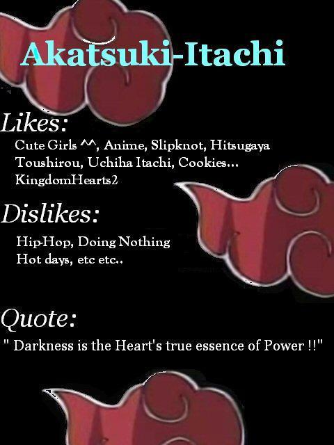 akatsuki itachi re-creation
