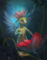 Flower fairy by morawless