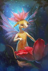 Flower fairy - upd. by morawless