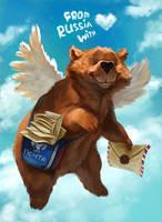 The post bear
