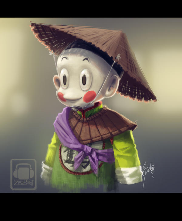 chiaotzu dragon ball by Zeablast