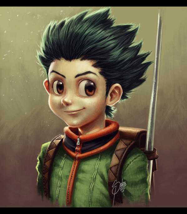Gon fan art by Zeablast