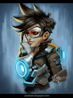 Overwatch fan art by Zeablast