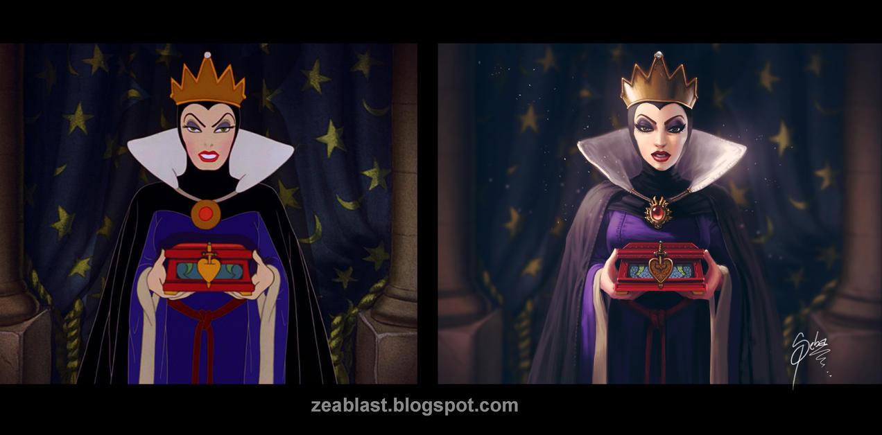 evil queen by Zeablast