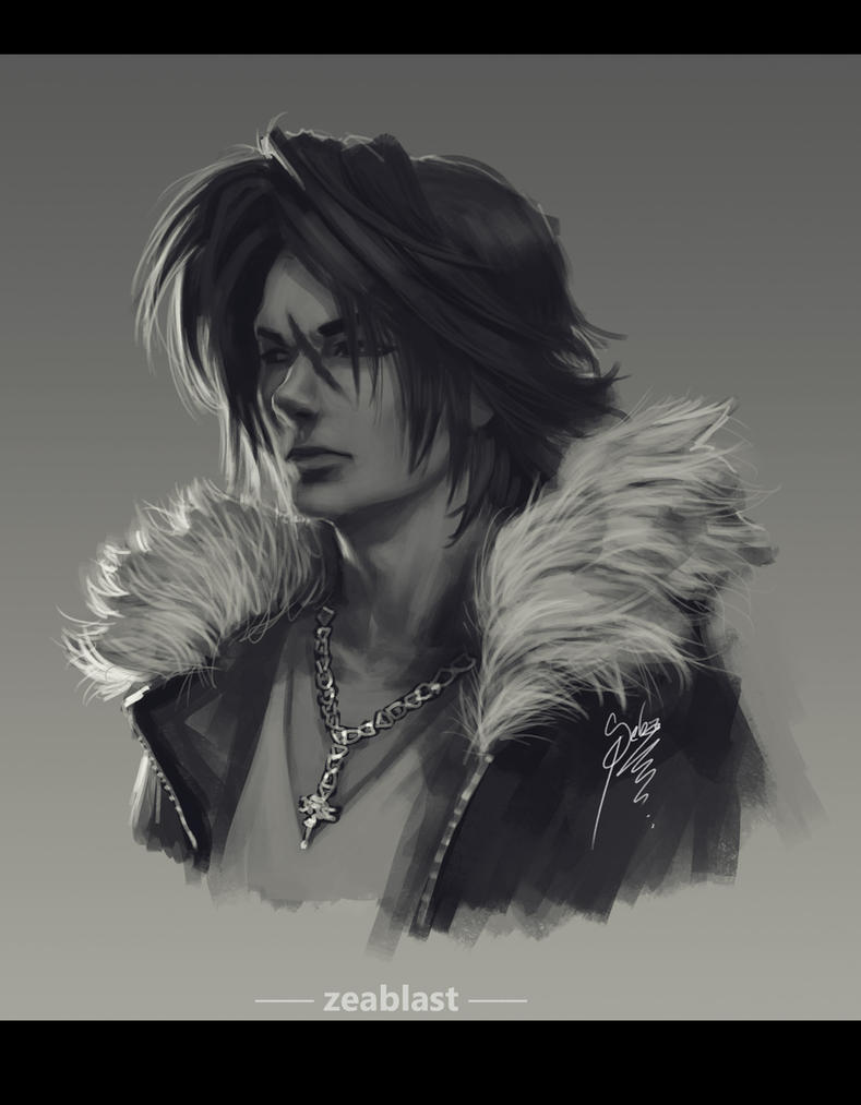 squall leonhart by Zeablast