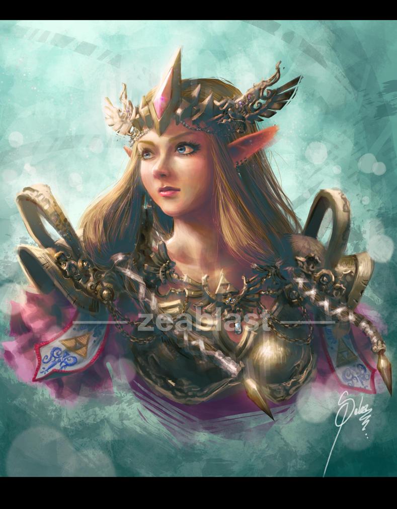 Zelda fan art by Zeablast