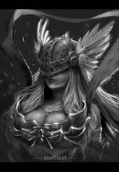 Angewomon fan art