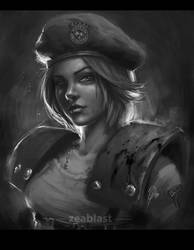 Jill Valentine by Zeablast