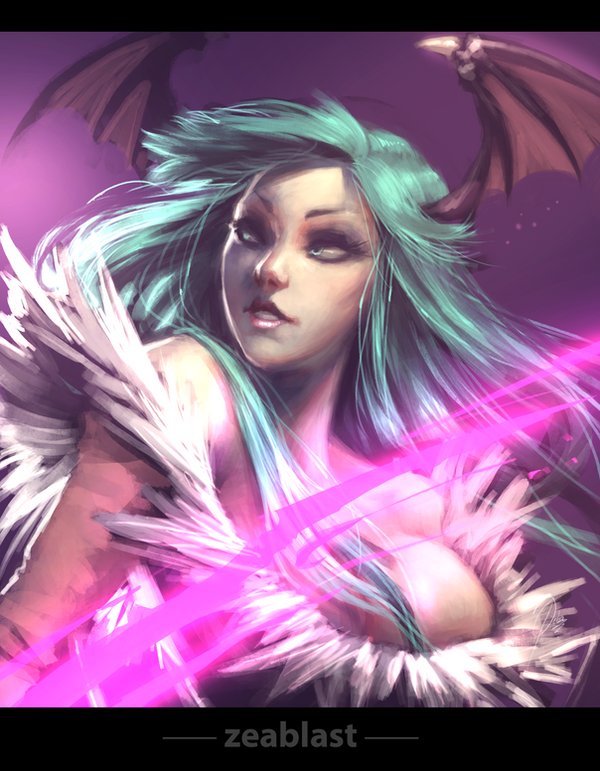 Morrigan by Zeablast