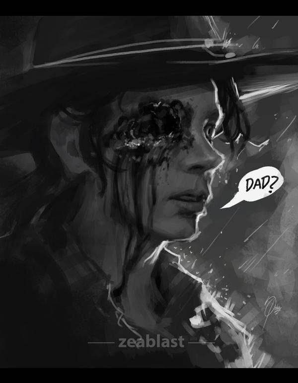 carl grimes by Zeablast