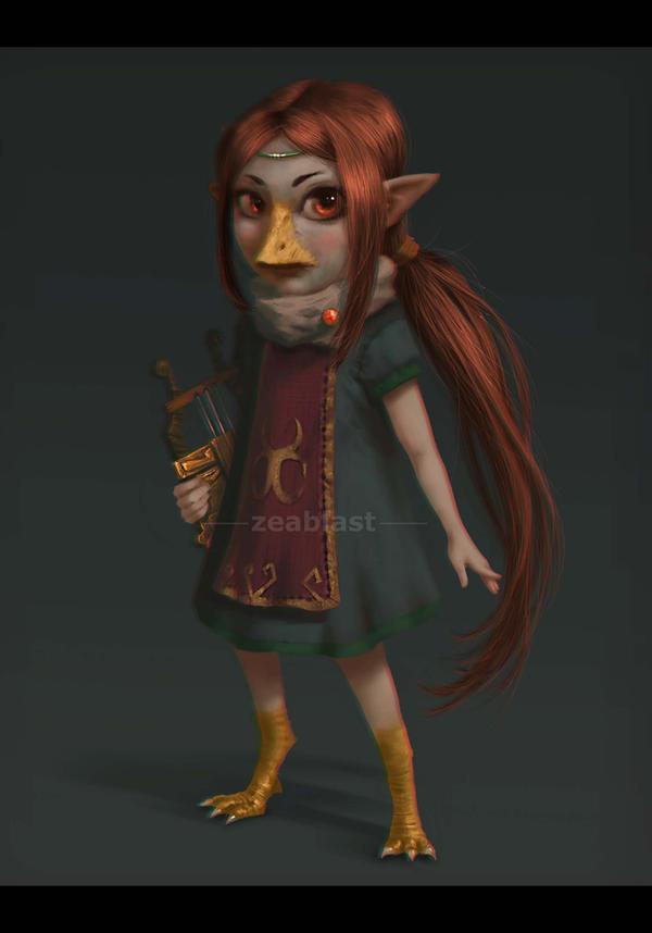 Zelda Wind Waker Medli by Zeablast