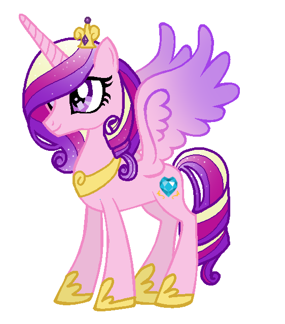 Princess Cadence (in My Style) By Duyguusss On DeviantArt