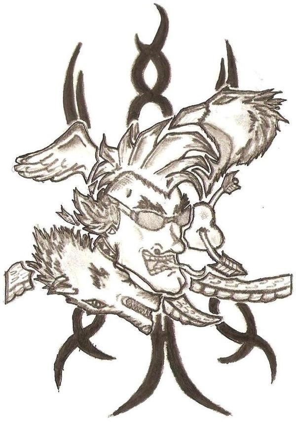 Punk Tattoo by ~bloodline-animation on deviantART