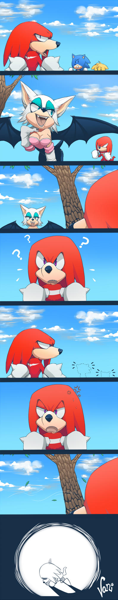 Knuckles is Gullible by UdrawMeshi