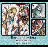 Artwork for Charity: Book of Pandora by AkaReikou
