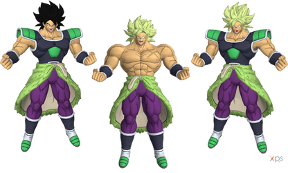 DBL - Broly BR by LorisCangini