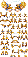 Dokkan Battle - Goku SSj2 (Go Kanji)