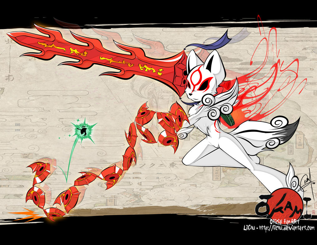 - Okami: Training - by LilChu