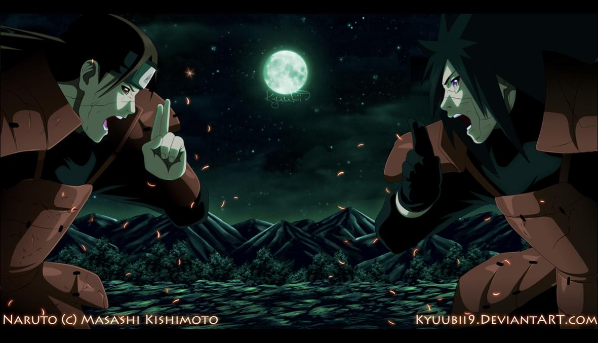 Hashirama VS Madara by Kyuubii9 on DeviantArt