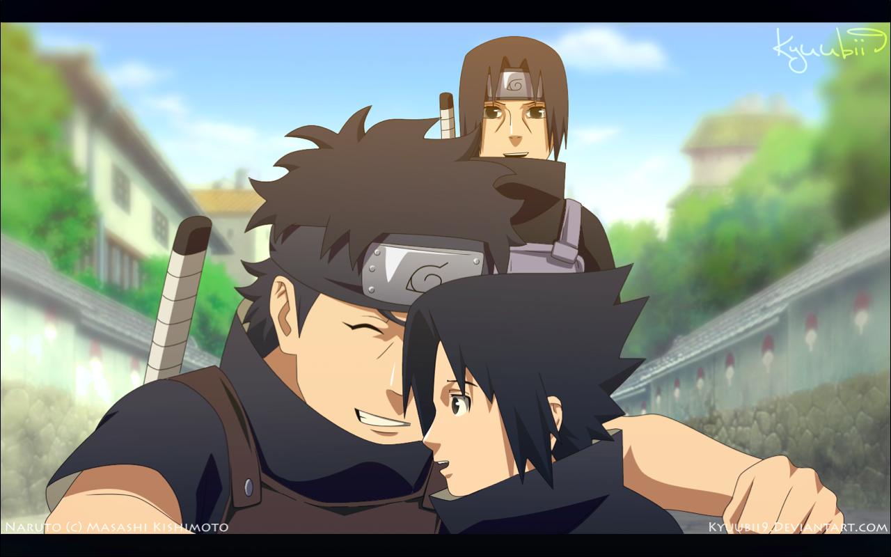 Uchiha Love   Shisui  itachi and sasuke by Kyuubii9Shisui Uchiha And Itachi