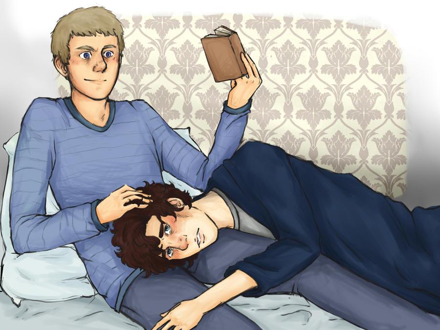 Sick Sherlock by Joy-niji