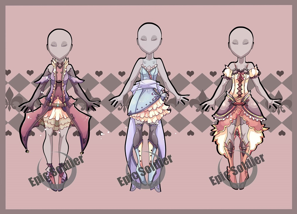 Costume adoptables 7 CLOSED by Epic Sol r on DeviantArt