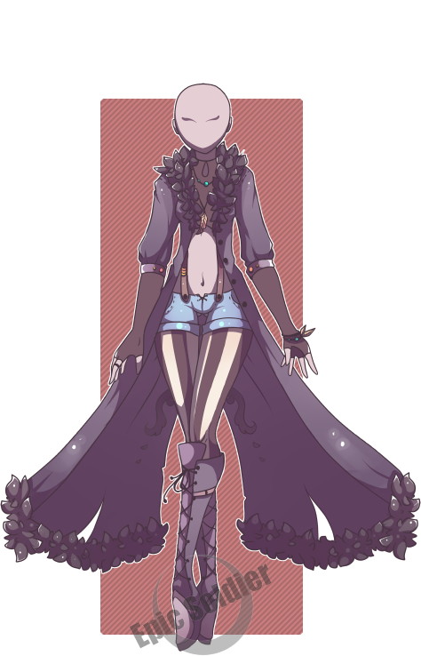 Custom Outfit Commission 2 By Epic Soldier On DeviantArt