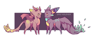 Epic Adoptys 4(OCLOSED) by Epic-Soldier