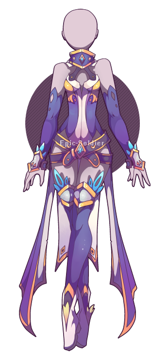 Anime Characters Jumpsuit : Outfit adoptable closed by epic soldier on deviantart
