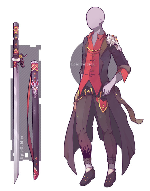 Custom Outfit And Weapon Commission By Epic Soldier On Deviantart