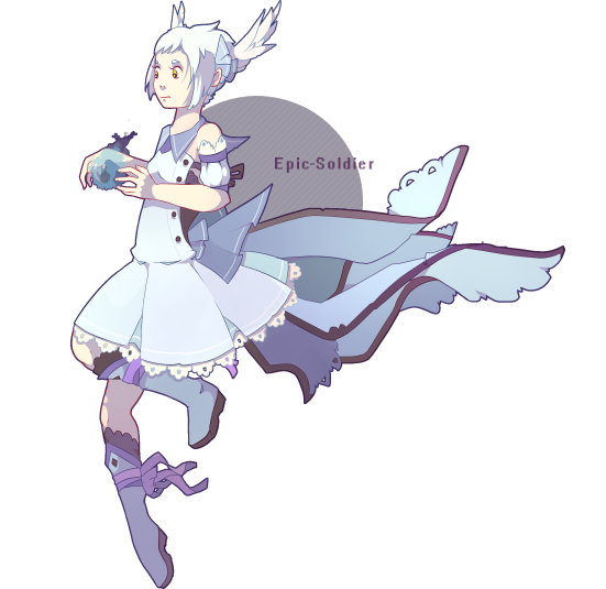 Magical girl overdose sky blue RAFFLE (CLOSED) by Epic