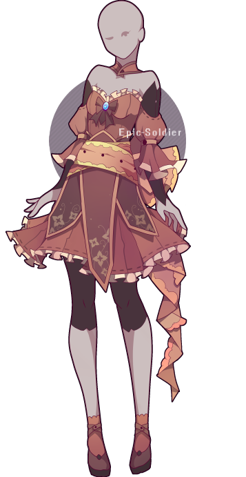 Outfit adoptable 41 (CLOSED!) by Epic-Soldier on DeviantArt