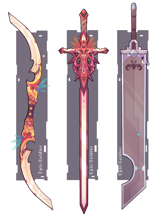 Weapon commission 57 by Epic-Soldier on DeviantArt