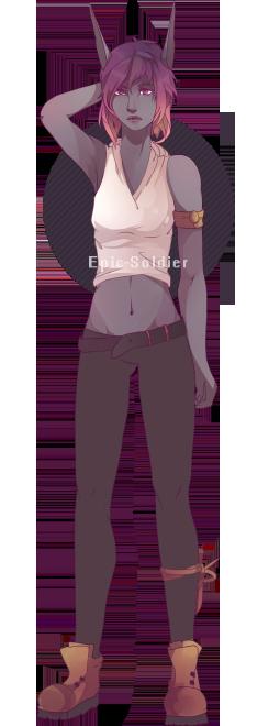 Garnett original character commission 4