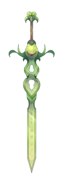 Epic Bitting Pear Sword