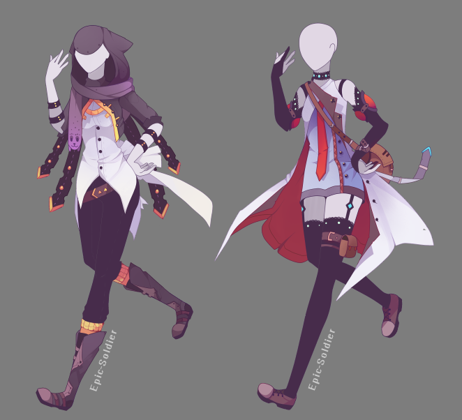 Outfit adoptable 73 CLOSED by Epic Sol r on DeviantArt