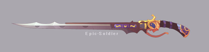 A custom weapon commission 125