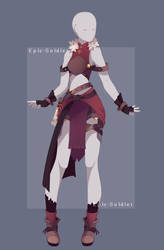 Custom outfit commission 118