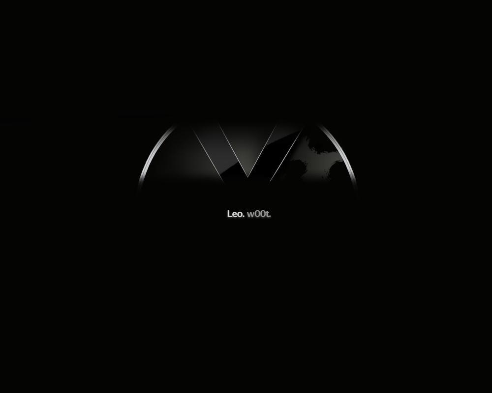 OS X Leopard black Wallpaper by xtraa