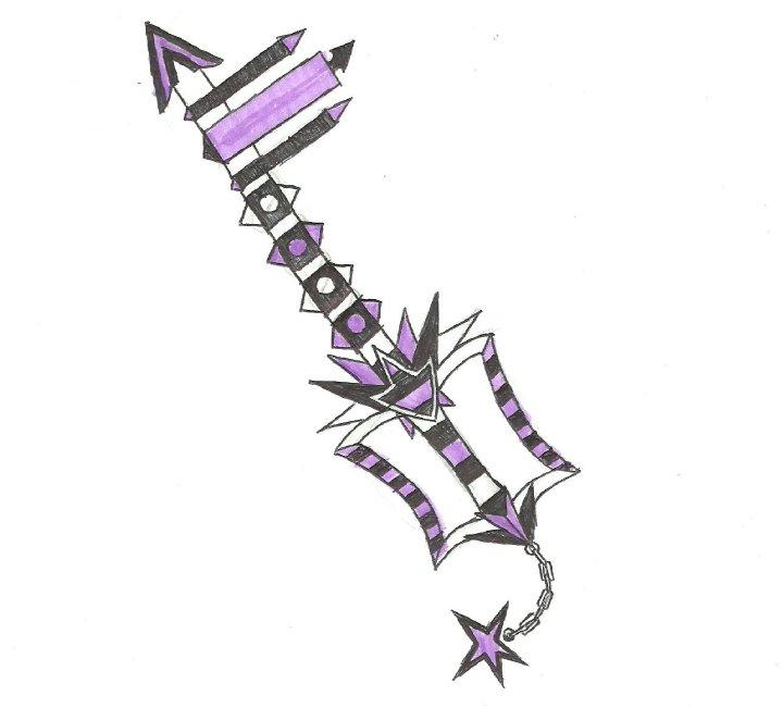 Keyblade- Maimed by ninjafeathers