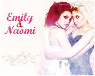 Emily and Naomi by Spidermarga