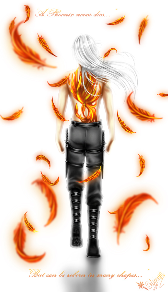 A Phoenix Never Dies by Lienwyn